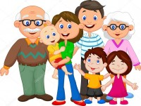 depositphotos 49595661 stock illustration happy cartoon family